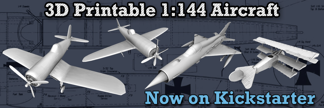 1:144 Aircraft on Kickstarter!